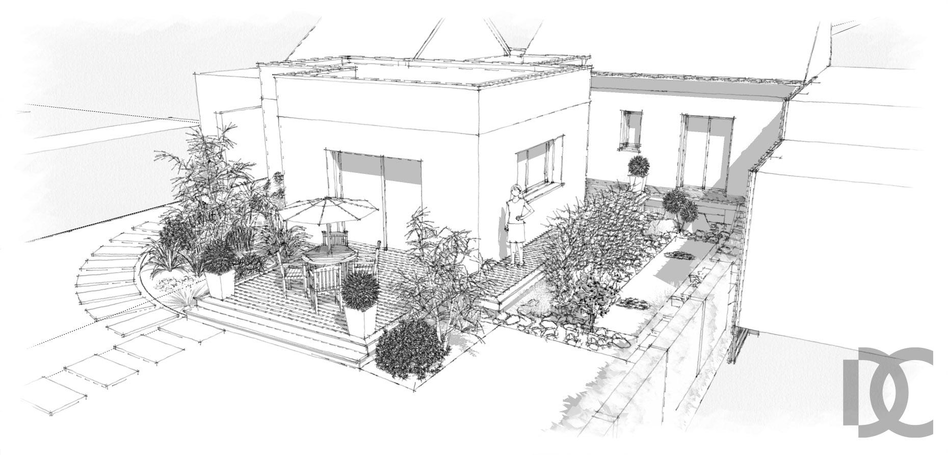 dessiner un jardin plan de jardin gratuit logiciel d pour pc tablette et smartphone with. Black Bedroom Furniture Sets. Home Design Ideas