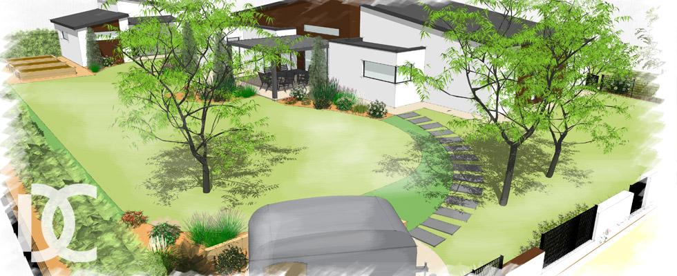Jardin d architecture 53 jardin decressac for Agrementer un jardin