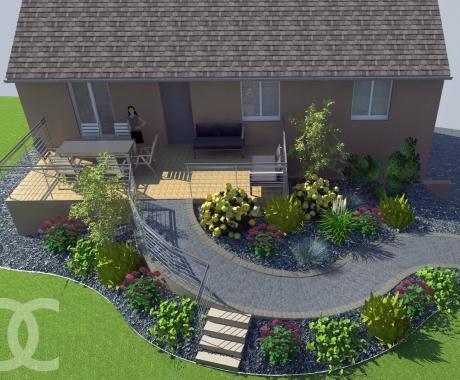 Jardin suspendu 53 jardin decressac - Terrasse jardin suspendu montreuil ...